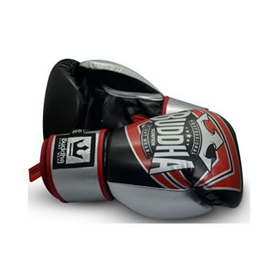 Buddha Scorpion Boxing Gloves Noir-Rouge