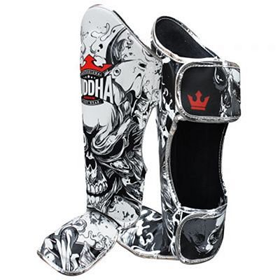 Buddha Shinguard  Fantasy Skull Special Edition White-Black