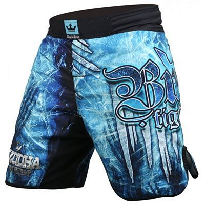 Buddha Short MMA Ice Blue-Black