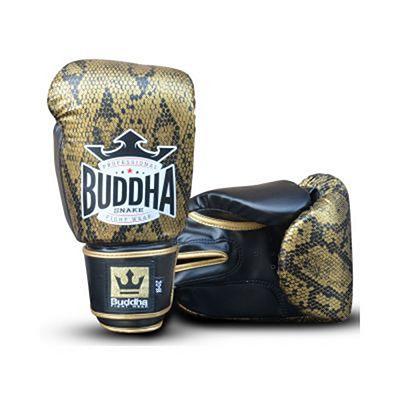 Buddha Snake Boxing Gloves Fekete-Arany
