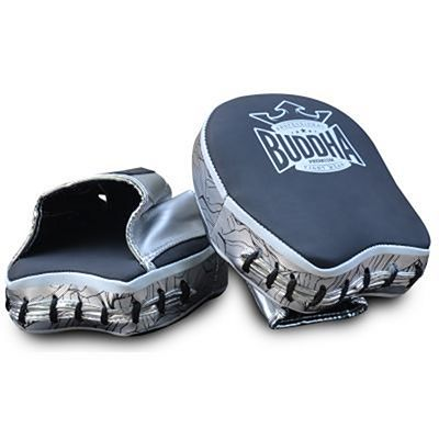 Buddha Special Boxing Precision Mitts Black