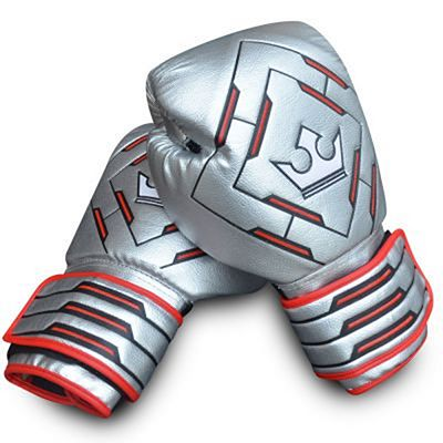 Buddha Spider Future Boxing Gloves Silver
