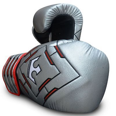 Buddha Spider Future Boxing Gloves Silver