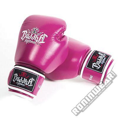 Buddha Thailand Boxing Gloves Lila