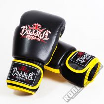 Buddha Thailand Boxing Gloves Black