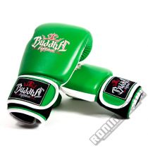 Buddha Thailand Boxing Gloves Green