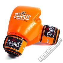Buddha Thailand Boxing Gloves Orange
