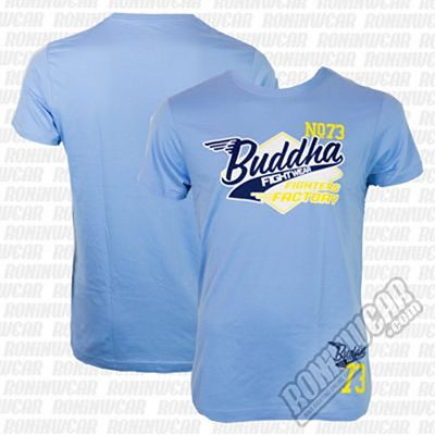Buddha T-shirt Fly Light Blue