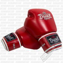 Buddha Thailand Boxing Gloves Red