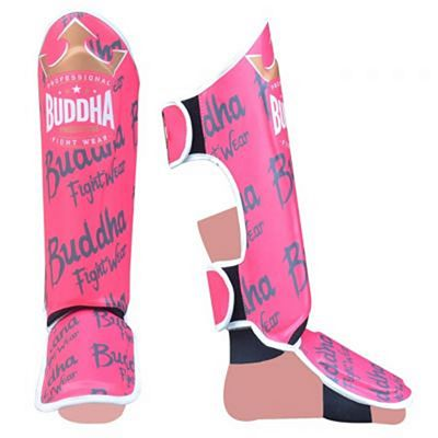 Buddha Top Premium Shinguards Pink