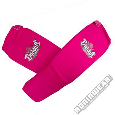Buddha Cloth Shin & Instep Guards Rosa
