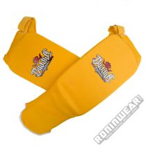 Buddha Cloth Shin & Instep Guard Amarelo