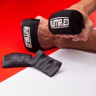Bumped Pro Knuckle Guards Slip-On Black