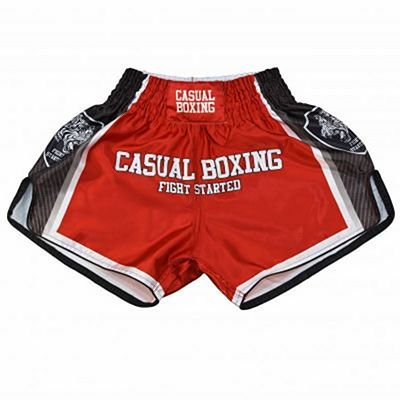 Casual Boxing Kick Shorts Fight Red-Black