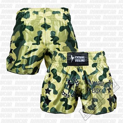Casual Boxing Thai Short Camo