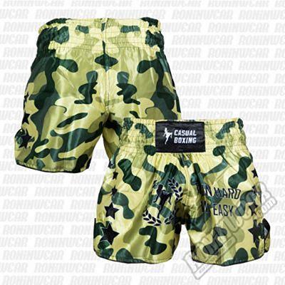 Casual Boxing Thai Short Camo