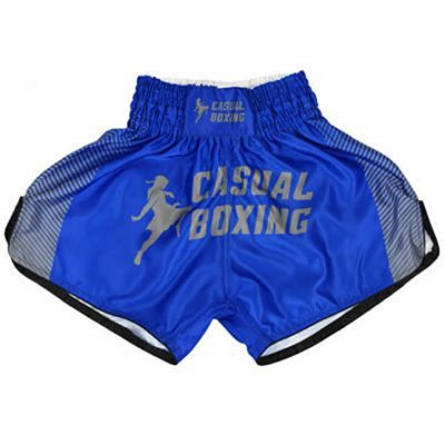 Casual Boxing Thai Short Sport Blu