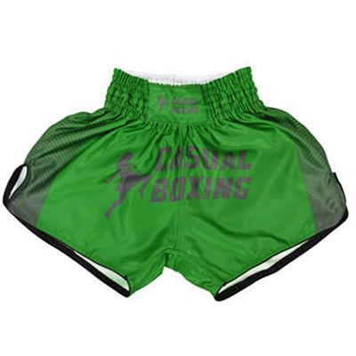 Casual Boxing Thai Short Sport Verde
