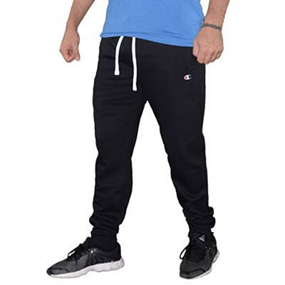 Champion Cotton Trackpants Preto