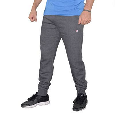 Champion Cotton Trackpants Cinza