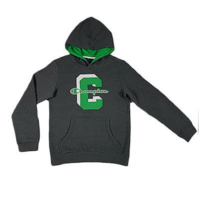 Champion Kids Hoodie Grey-Green