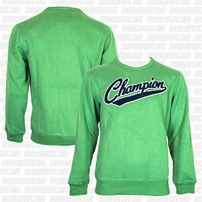 Champion Peached Fall Fleece Verde-Azul