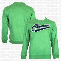 Champion Peached Fall Fleece Verde-Azul