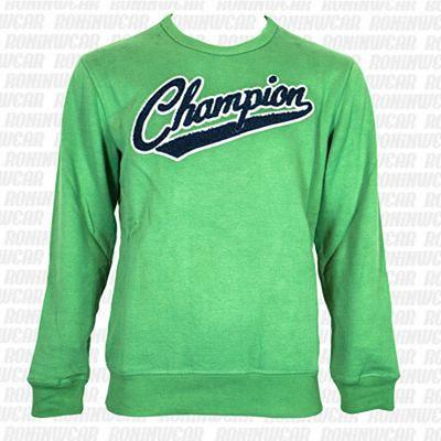 Champion Peached Fall Fleece Green-Blue