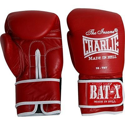Charlie Boxing Bat X Boxing Gloves Red