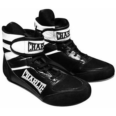 Charlie Boxing Botas De Boxeo CHARLIE Zapatillas Botines RING Boxeador Fekete-Fehèr