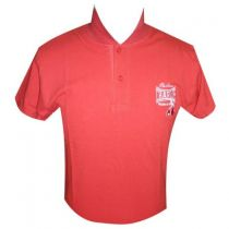 Charlie Boxing Cotton Polo Rot