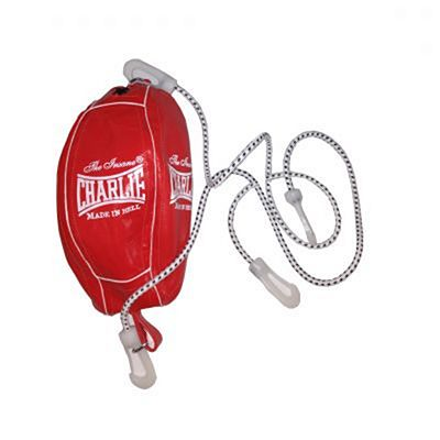 Charlie Boxing Double End Ball 22cm Red