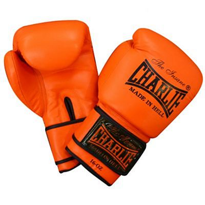 Charlie Boxing Fluor Boxing Gloves Orange