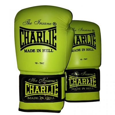Charlie Boxing Fluor Boxing Gloves Yellow