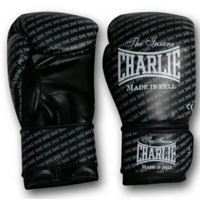 Charlie Boxing Guantes Blast Fekete