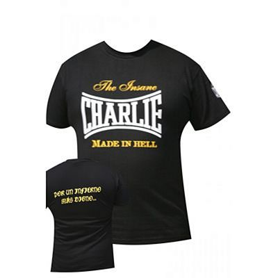 Charlie Boxing Inferno T-shirt Black