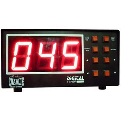 Charlie Boxing LCD Boxing Timer Black