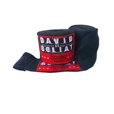 David Et Goliat Handwraps 550cm Black-Red