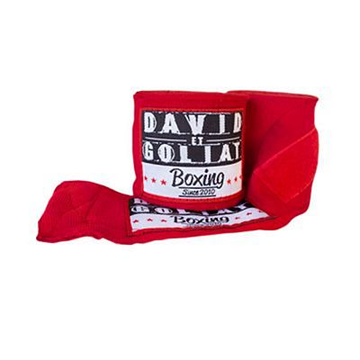 David Et Goliat Handwraps 550cm Red