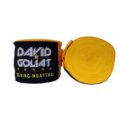 David Et Goliat Handwraps 550cm Yellow