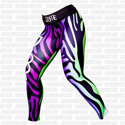 Dome Fitness Zebralicious Green-Purple