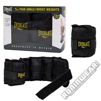 Everlast Ankle & Wrist Weights Pair 5 lb