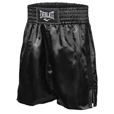 Everlast Boxing Trunks Black-Black