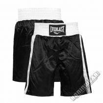 Everlast Boxing Trunks Negro-Blanco