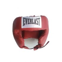 Everlast Traditional Headgear 3404 Piros