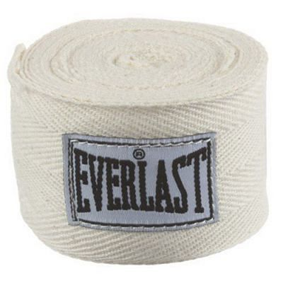 Everlast Cotton Handwraps 275cm White