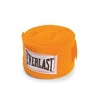 Everlast Cotton Handwraps 457cm Yellow