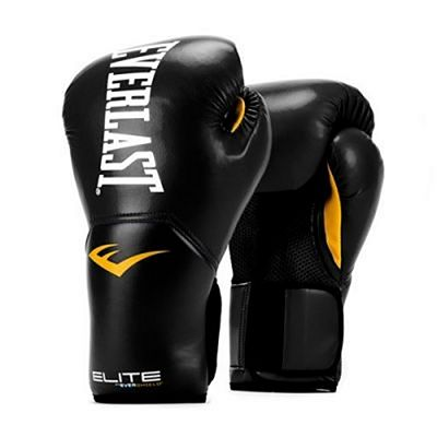 Everlast Elite Pro Style Training Gloves Black