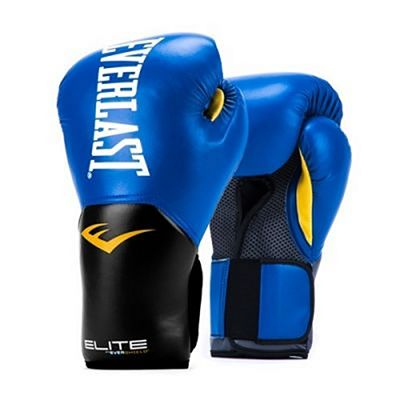 Everlast Elite Pro Style Training Gloves Blue