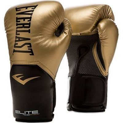 Everlast Elite Pro Style Training Gloves Gold